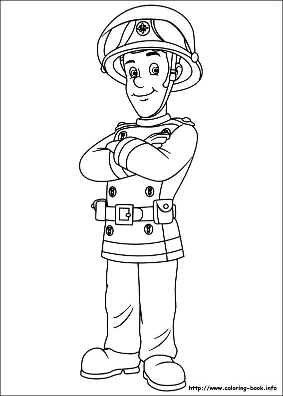 567x794 Girl Firefighter Coloring Pages Kids Coloring Fireman Coloring