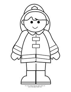 236x305 Printable Fireman Coloring Pages Printable Firefighter Coloring