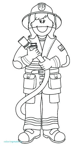276x500 Fire Fighter Coloring Pages Coloring Pages Fireman Coloring Pages