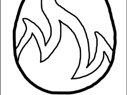 Fire Flames Coloring Pages