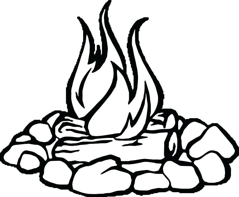 805x664 Fire Coloring Page Fire Hydrant Coloring Page Fire Coloring Pages