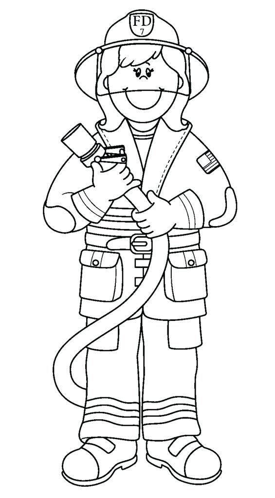 565x1024 Fire Fighter Coloring Page Fire Fighter Coloring Page Fire Hydrant