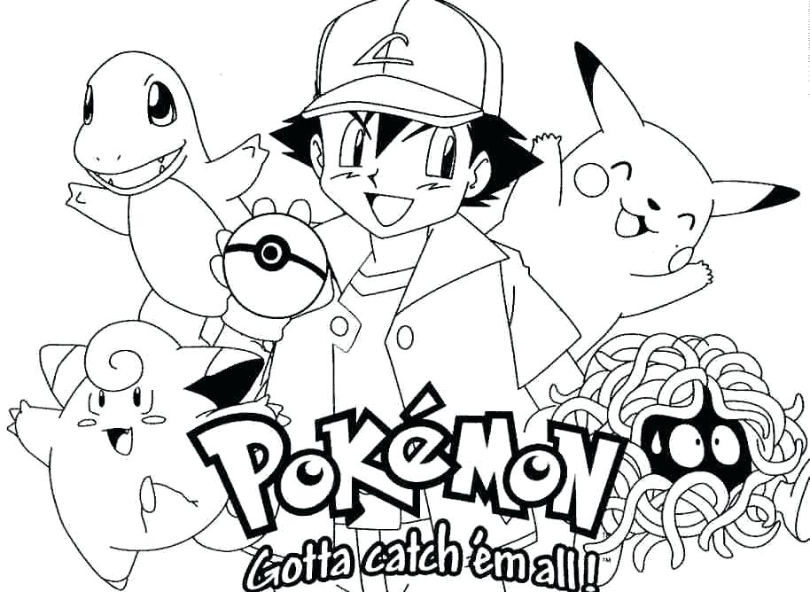 914x668 Pokemon Coloring Book Coloring Pokemon Coloring Pages Free