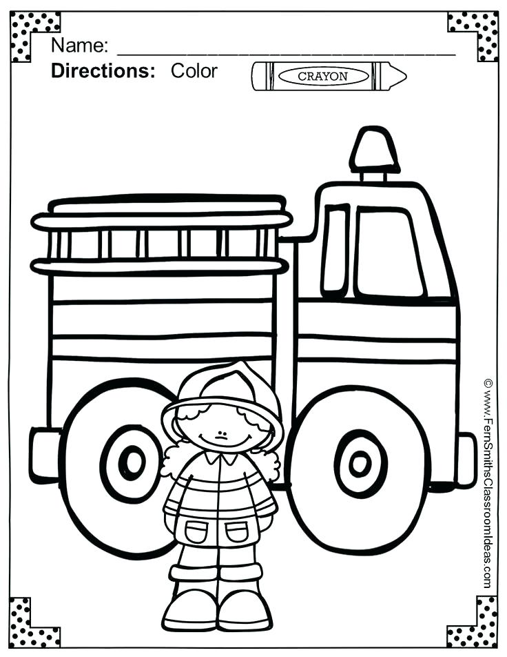 736x952 Fire Prevention Coloring Pages Fire Pictures To Color Fire Safety