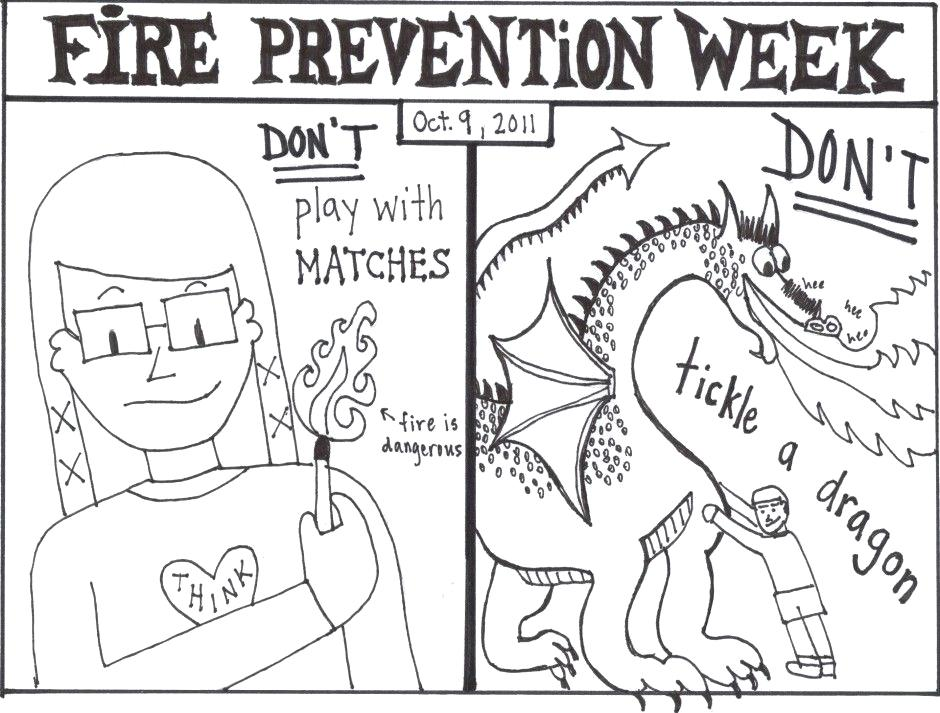 940x713 Free Fire Prevention Coloring Books Also Free Fire Safety Coloring