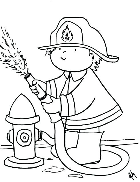 490x636 Coloring Pages Of Fire Free Fire Safety Coloring Pages Fancy Fire