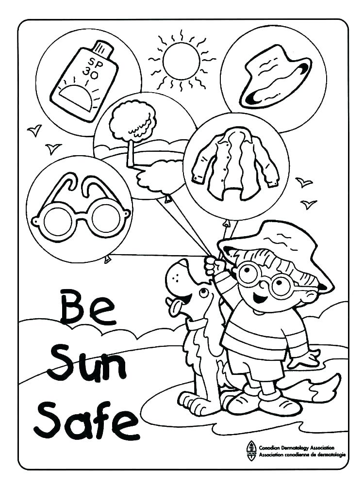 750x1000 Fire Safety Printable Coloring Pages Fire Safety Coloring Pages
