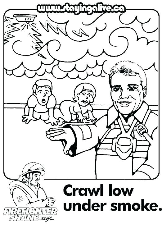 522x737 Safety Coloring Pages Safety Coloring Pages Awesome Pictures