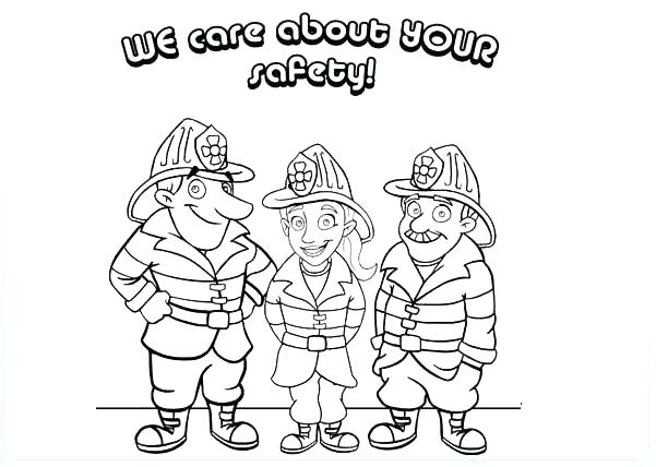 601x428 Tremendous Free Printable Fire Prevention Coloring Pages Mini