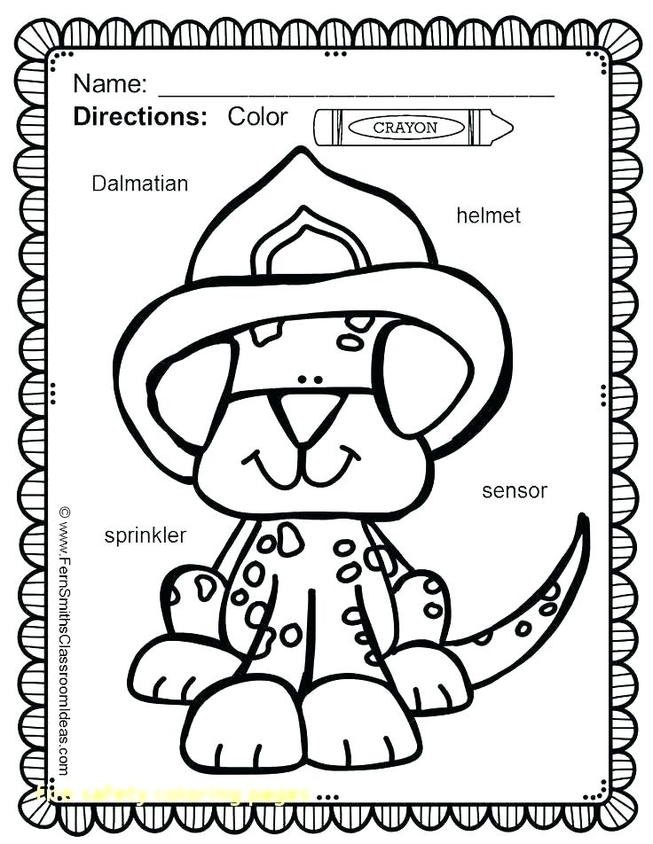 736x952 Best Of Fire Safety For Kids Coloring Pages Printable