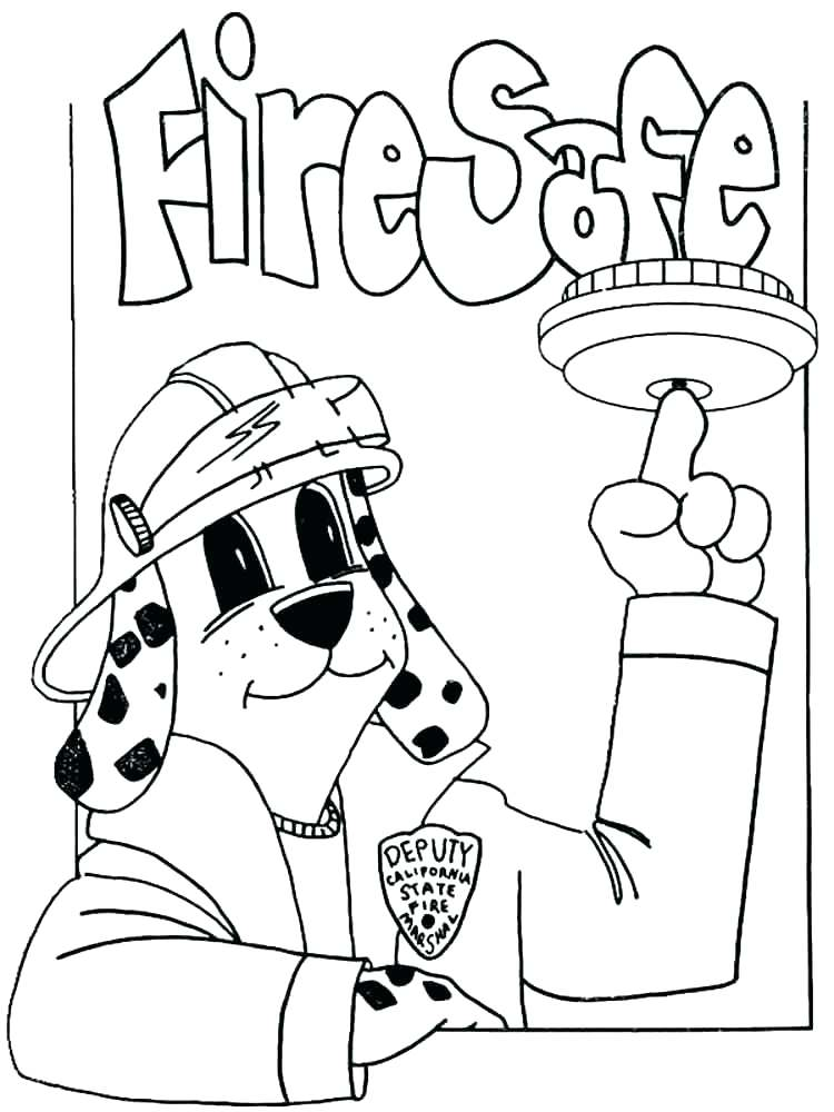 750x1000 Fire Prevention Coloring Pages Fire Safety Coloring Book Fire
