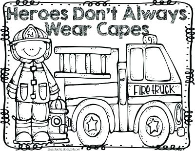 400x309 Fire Prevention Week Coloring Pages Here Are Fire Prevention