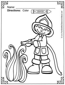 270x350 Fire Safety Coloring Pages Dollar Deal Fire Safety, Safety