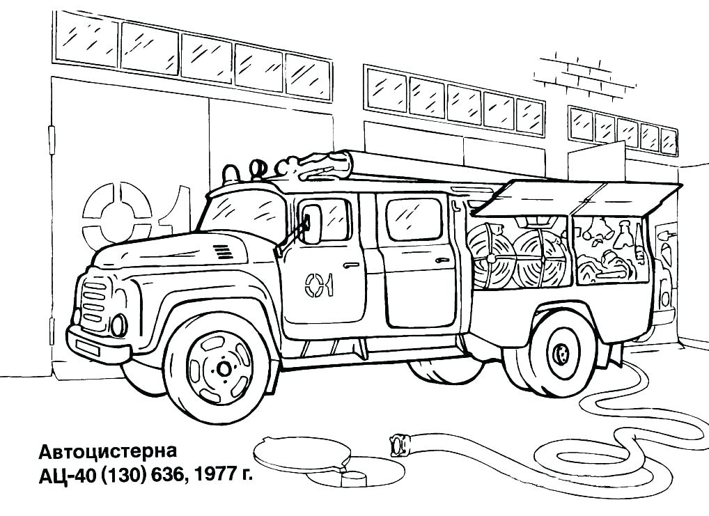 1018x741 Also Download Free Fire Station Drawing Page Printable Fire