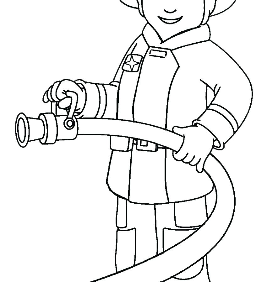 850x900 Coloring Pages Fire Firetruck Coloring Page Free Coloring Media
