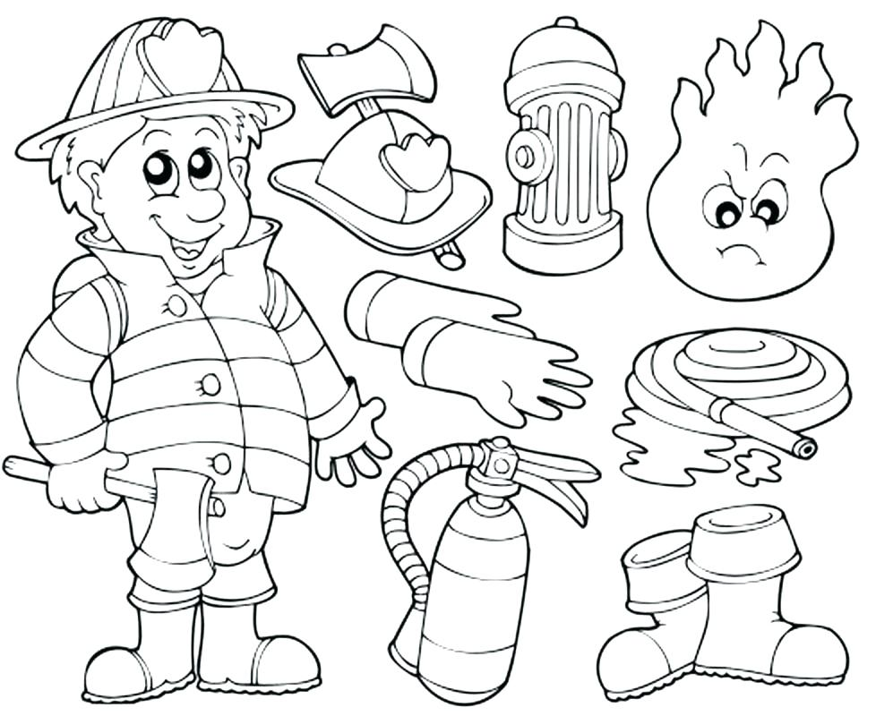 978x800 Firefighter Coloring Books Firefighter Coloring Book Free