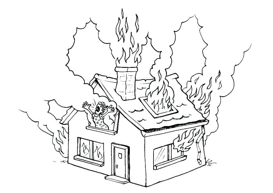 875x620 Lego City Fire Station Coloring Pages Department Free Page Site