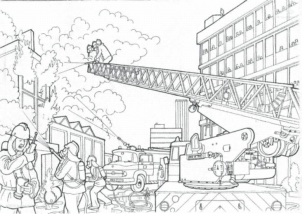 1022x725 Excellent Fire Department Coloring Pages Firetruck Coloring Sheet