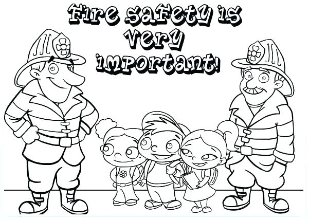 601x428 Fire Coloring Pages Safety Coloring Pages Free Fire Coloring Sheet