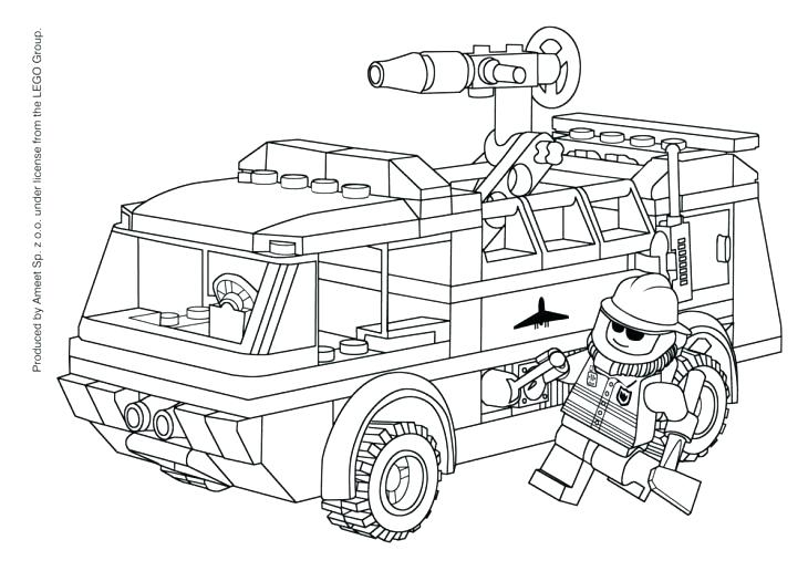 730x516 Fire Engine Coloring Page Free Printable Fire Truck Coloring Pages