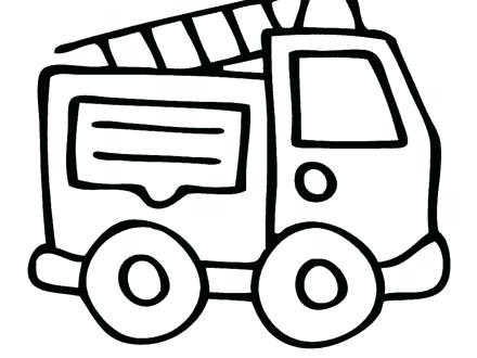 440x330 Printable Fire Truck Coloring Page Get This Printable Fire
