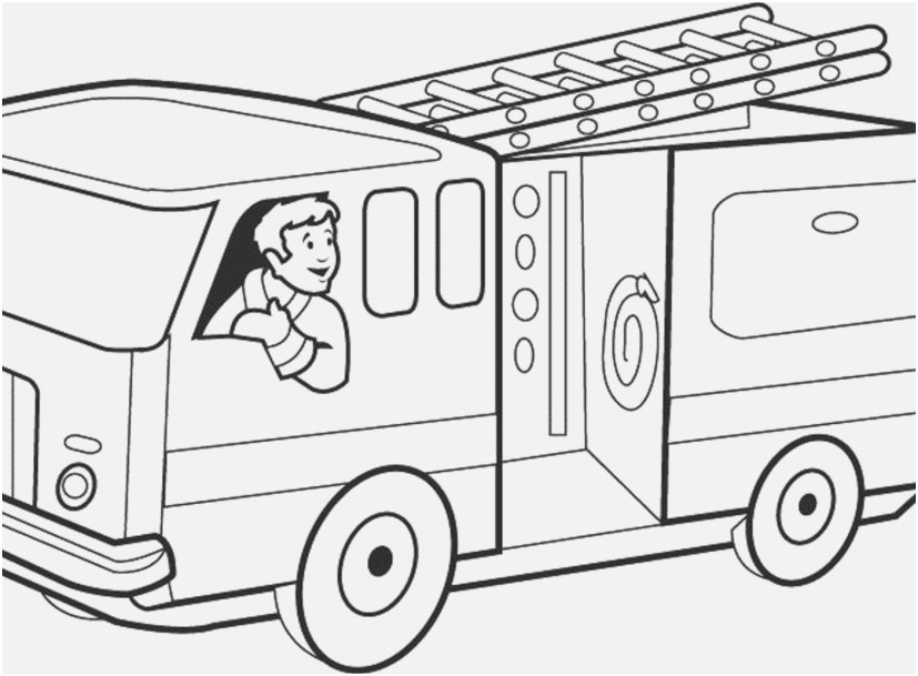 827x609 Truck Coloring Book Portraits Fire Truck Coloring Pages