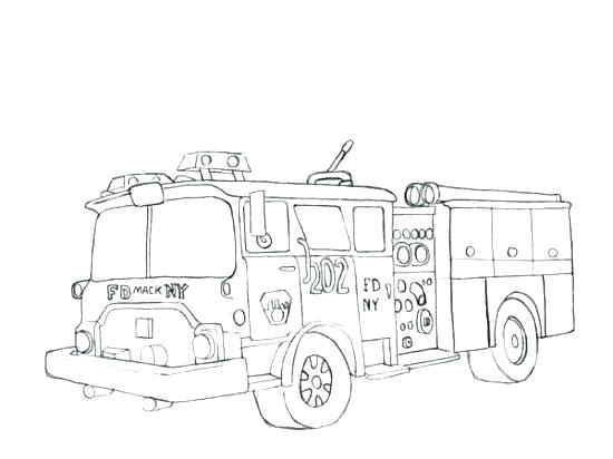 550x412 Dump Truck Coloring Page Fire Truck Coloring Pages To Print Free
