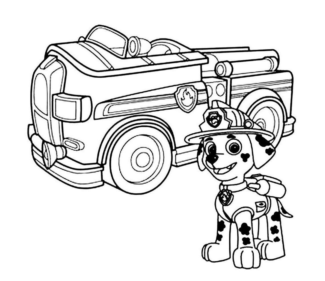 1138x984 Fire Truck Coloring Page About Fire Truck Coloring Pages Templates