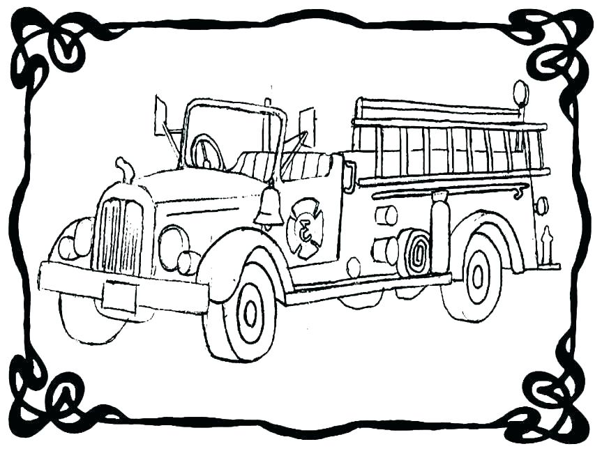 863x647 Free Garbage Truck Colouring Pages Garbage Truck Daily Activity
