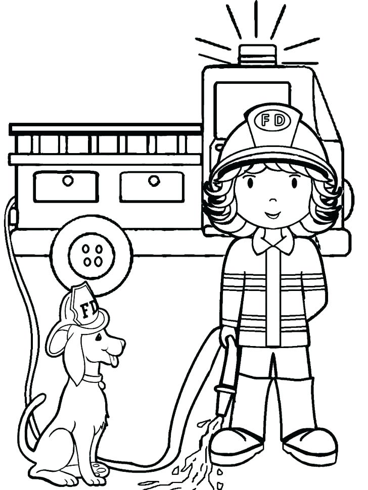 728x970 Truck Picture To Color Coloring Fire Truck Coloring Pages Truck
