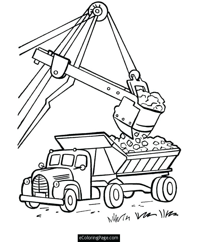 670x820 Truck Pictures To Color And Dump Truck Coloring Pages Coloring