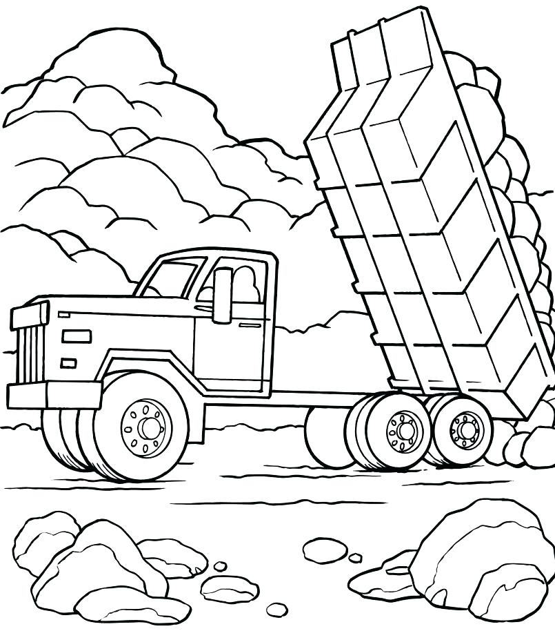 Fire Truck Coloring Pages To Print At Getdrawings Com
