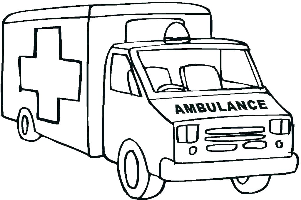 Fire Truck Coloring Pages To Print At Getdrawings Com Free For