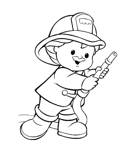 396x512 Firefighter Badge Coloring Page Firefighter Coloring Page Fireman