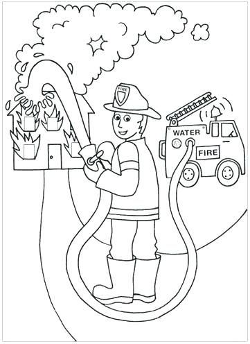 361x496 Firefighter Coloring Books Popular Fire Fighting Coloring Pages