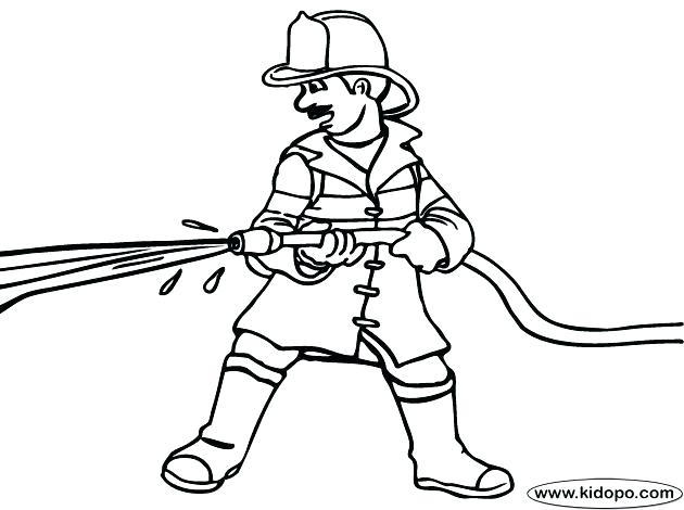630x470 Firefighter Coloring Page Fire Fighter Coloring Pages Coloring
