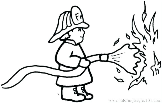 650x412 Firefighter Coloring Page Fireman Coloring Page Fireman Coloring