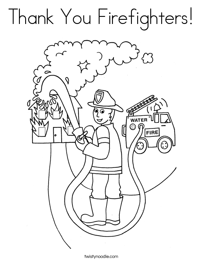 685x886 Firefighter Coloring Pages To Download And Print For Free