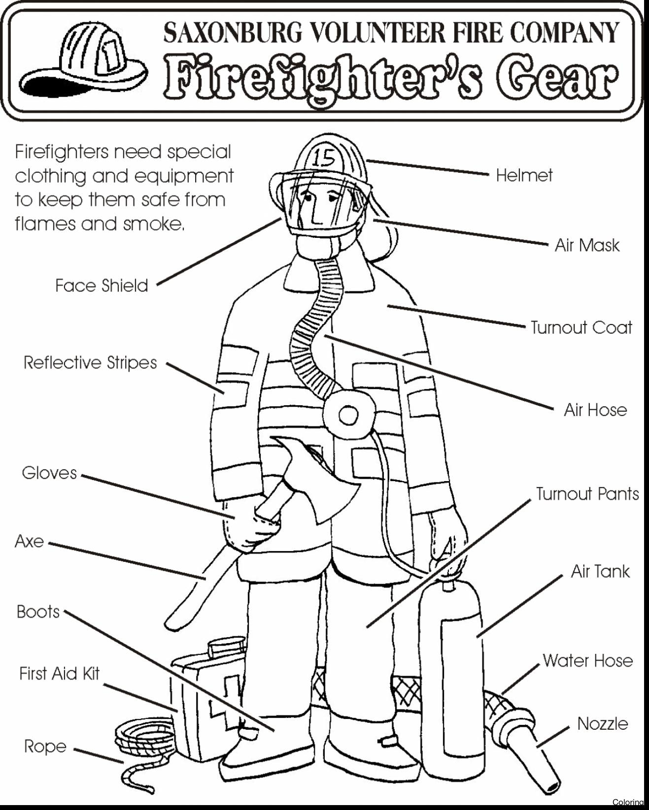 1317x1645 Best Of Free Firefighter Coloring Pages For Kids Page