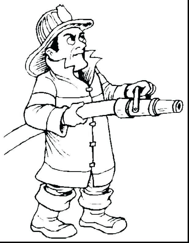 618x797 Firefighter Coloring Books As Well As Firefighter Try