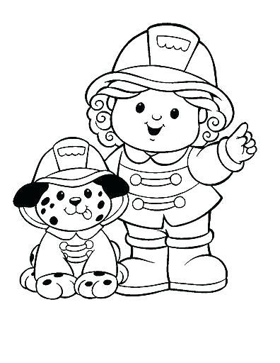 396x512 Fireman Coloring Page Fireman Coloring Page Firefighter Hat