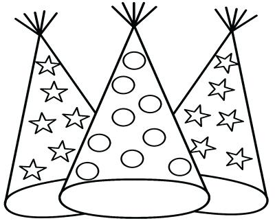400x322 Firefighter Hat Coloring Page