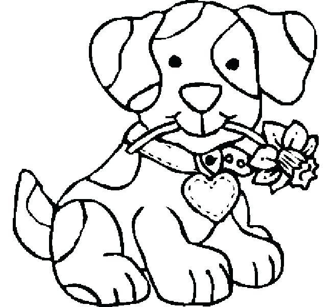 650x600 Dog Pictures For Coloring Dog Template Firehouse Dog Coloring Page