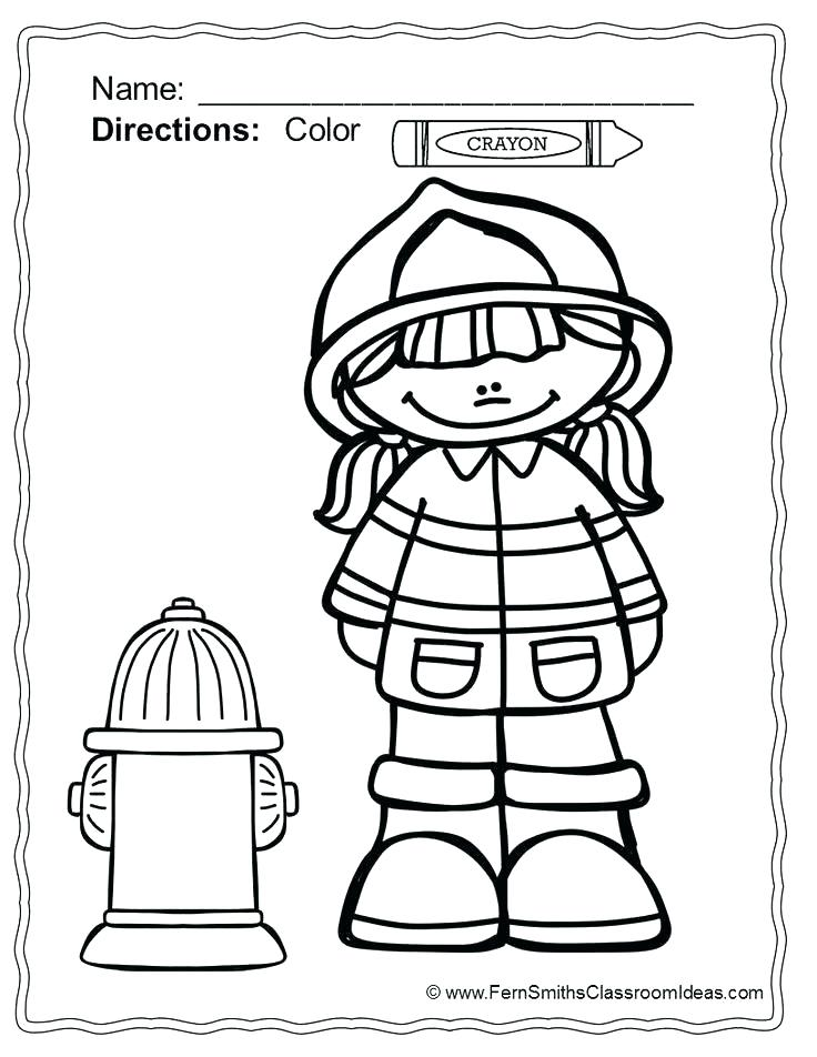 736x952 Fire Station Coloring Page Fire Department Coloring Pages Fire