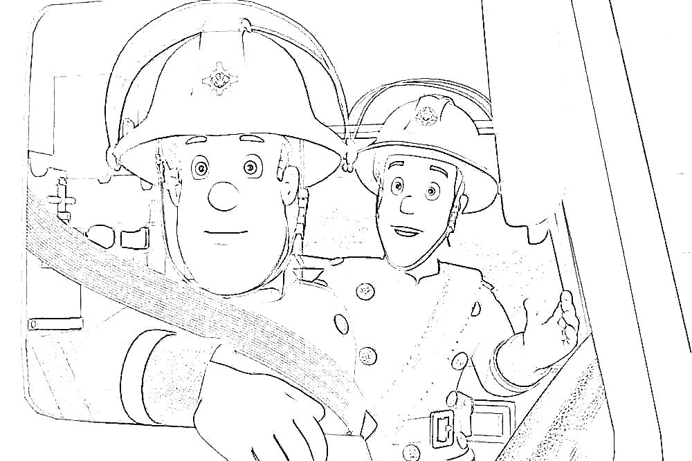 1000x667 Fireman Coloring Sheet Fire Fighter Coloring Pages Fireman