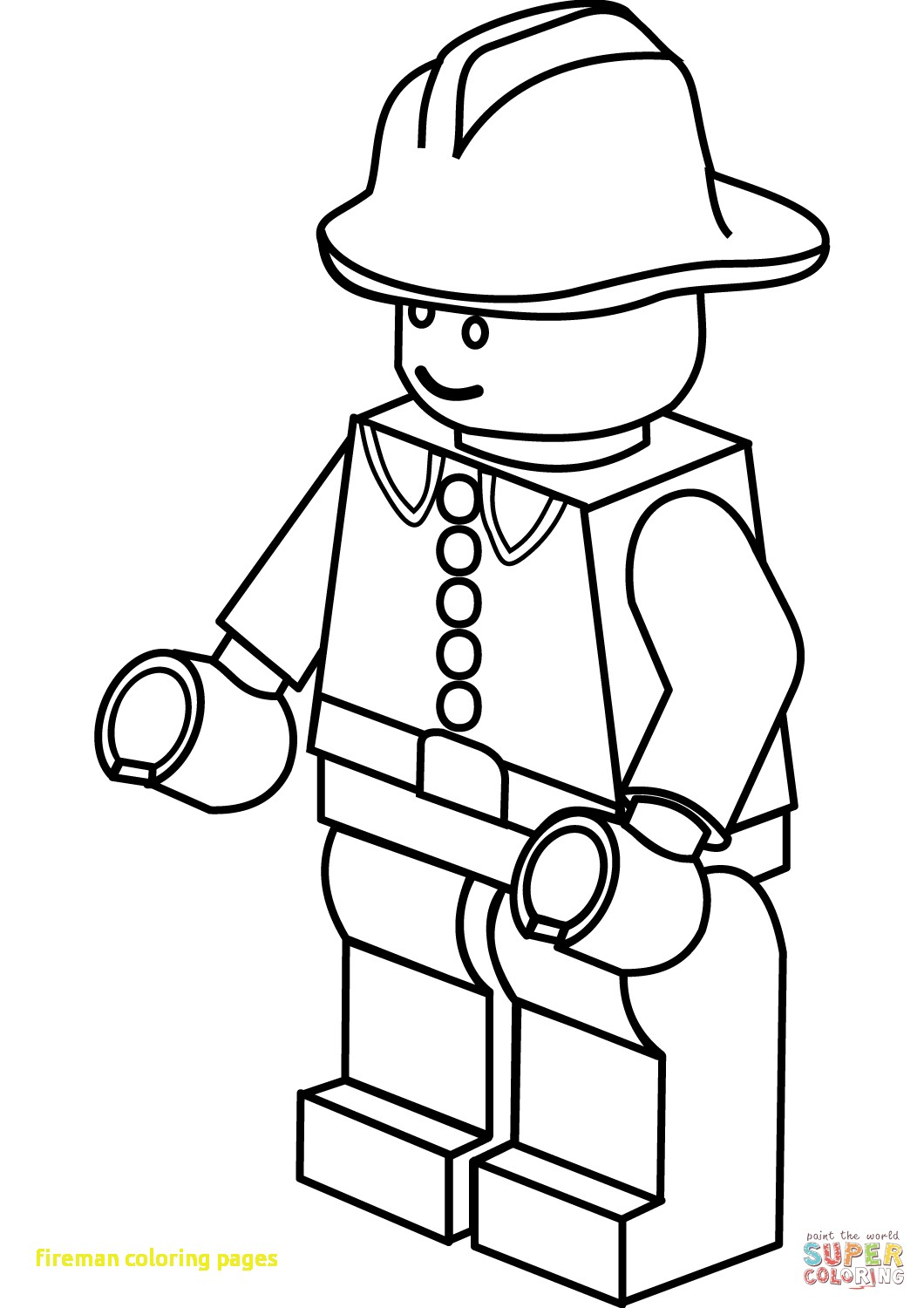 1060x1500 Fireman Sam Coloring Pages Qqa Me Within
