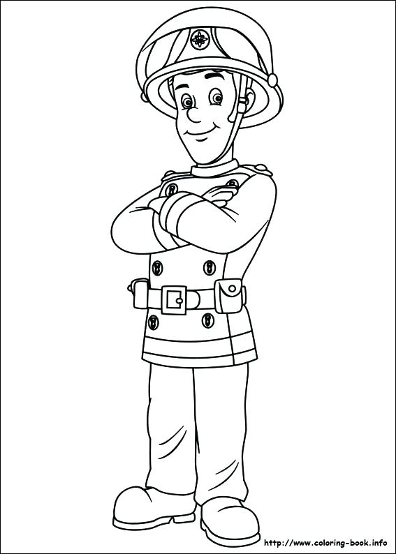 567x794 Fireman Coloring Page Fireman Coloring Page Index Coloring Pages