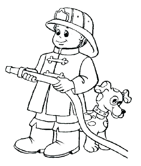 600x707 Fireman Hat Coloring Page Fireman Hat Coloring Page Curious Wear