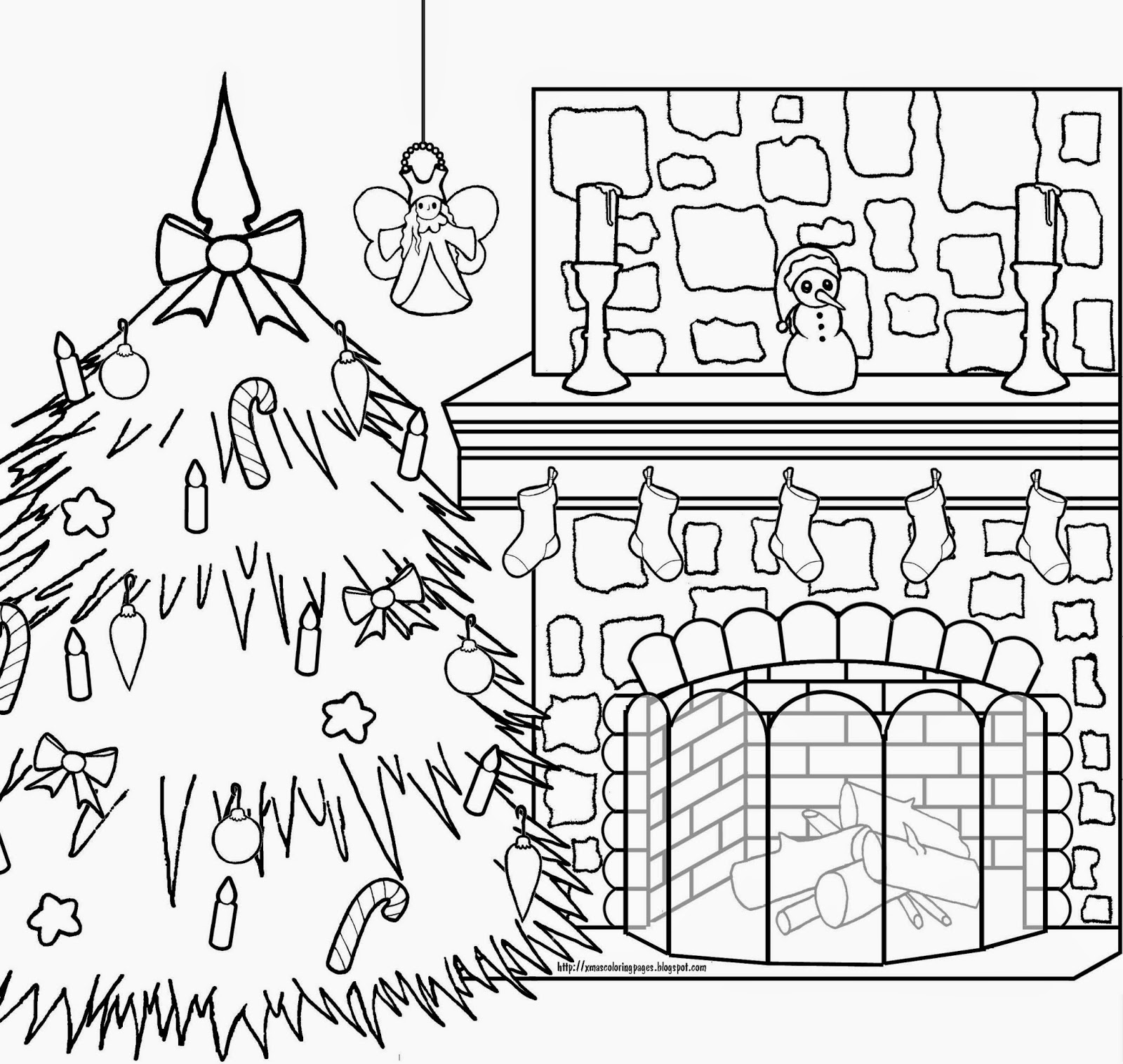 1600x1515 Xmas Coloring Pages