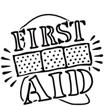343x350 First Aid Coloring Pages First Aid Coloring Pages